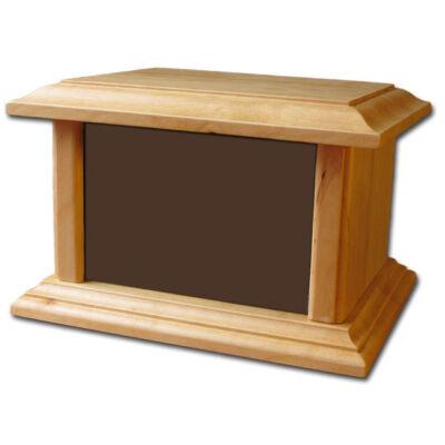 Beltéri fa urna KÖZEPES