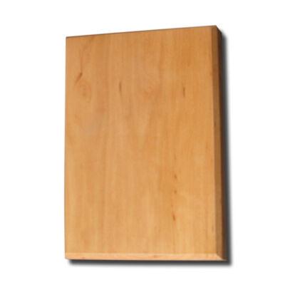 Fa plakett égerből 20x30x2 cm