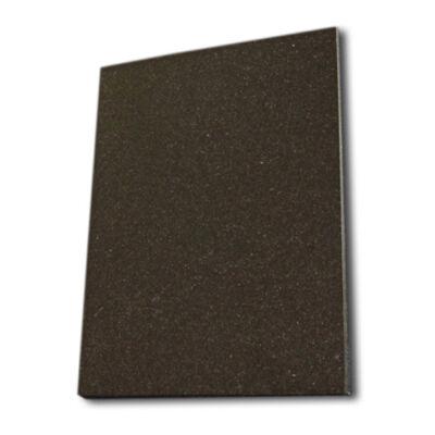 Szögletes gránit plakett 13x18x1 cm